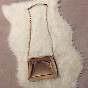 Handbags - ROSE GOLD patent leather crossbody🌟🌟💖